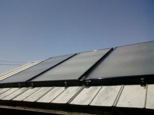 solar water heater panels